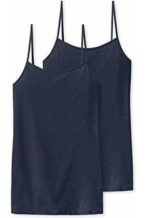 Schiesser Women's Spaghettitop Vest, (Midnight 804)