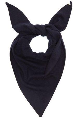 Extreme Cashmere No.35 Stretch-cashmere Bandana - Womens - Navy