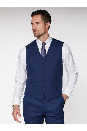 Jeff Banks Textured Soho Waistcoat - Blue