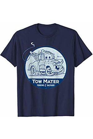Disney Pixar Cars Tow Mater Towing & Salvage Logo T-Shirt