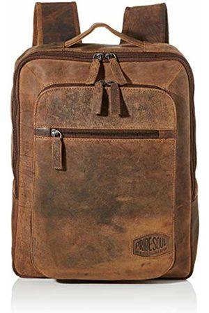 Pride & Soul Rucksack Jester, Laptoprucksack Leder Unisex Adults' Backpack