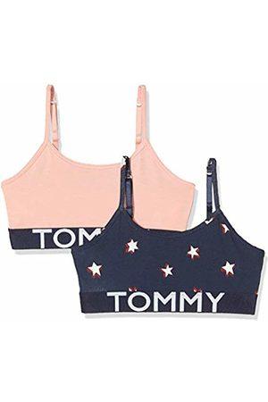 Tommy Hilfiger Girl's 2p Bralette Stars Bra