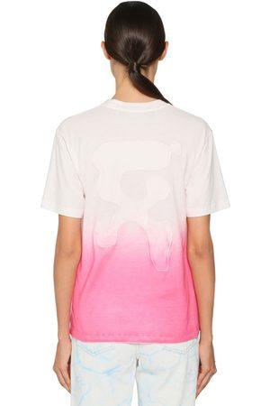 OFF-WHITE Degradé Printed Cotton Jersey T-shirt