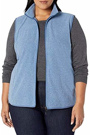 Amazon Plus Size Full-zip Polar Fleece Vest Heather