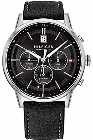 Tommy Hilfiger Men's Analogue Quartz Watch with Leather Strap 1791630