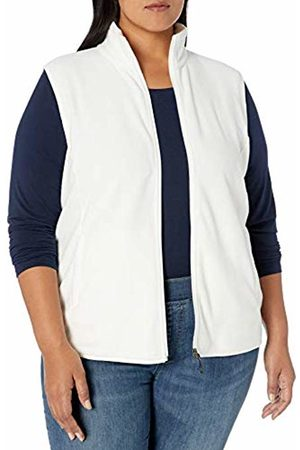 Amazon Plus Size Full-zip Polar Fleece Vest Ivory
