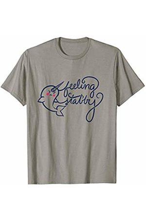 SnuggBubb Feeling Stabby Narwhal T-Shirt