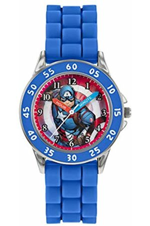The Avengers Avengers Boy's Analogue Analog Quartz Watch with Silicone Strap AVG9033
