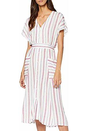 Springfield 4.2.pc. Midi Rayas Dress Women's 34 (Manufacturer's size:34)