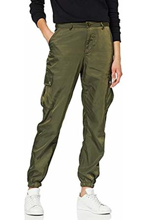 Italy Women Pants Sweat Baggy Jogging Trousers Casual Camouflage Army Look 34-38