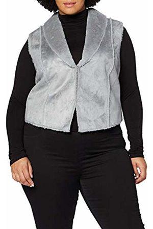 Ulla Popken Womens Plus Size Zip Up Hooded Coat 717695