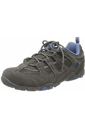 Hi-Tec Quadra Classic Women's Low Rise Hiking Shoes, ( /Charcoal/Cornflower 051)
