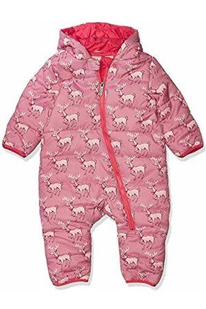 Hatley Baby Girls' Fuzzy Fleece Bundler Bodysuit