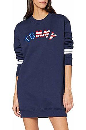 Tommy Hilfiger Women's Tjw Logo Sweatshirt Dress