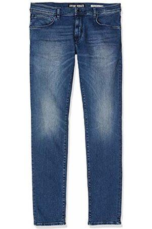 Antony Morato Men's Jeans Skinny Barret - Power Stretch - Pilota (Blu Denim 7010)