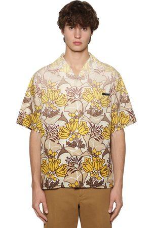 Prada Degradé Print Poplin Bowling Shirt