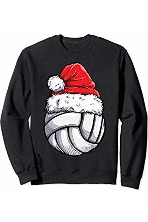 Most Wonderful Christmas Co Christmas Volleyball Ball Santa Hat Funny Sport Xmas Girls Sweatshirt