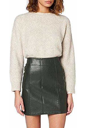Dorothy Perkins Women's Pu Seam Detail Mini Skirt