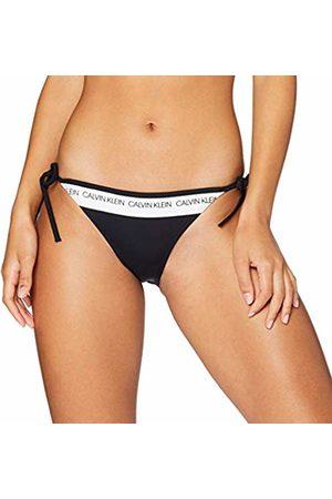 Calvin Klein Women's String Side Tie Bikini Bottoms