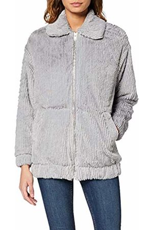 New Look Women's T Cut Faux Fur Bomber Coat