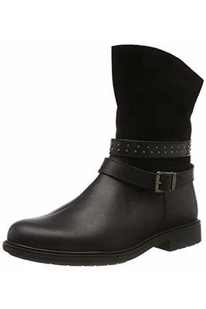 Pablosky Boys' 475712 Low-Top Sneakers, (Negro Negro)