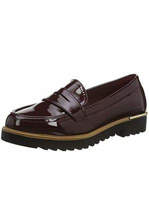 New Look Kairy 7-IC PU Croc Loafer s206 Rouge Dark Burgundy 67 39 EU Mocassins Femme