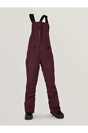 Volcom Women's Elm Gore-tex Bib Overall Snowpant - Purple - x-Large