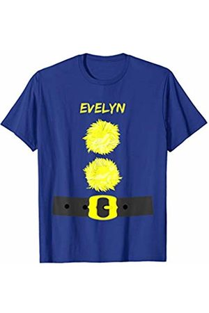 Dwarf Names Evelyn Dwarf Name Costume Christmas Party T-Shirt
