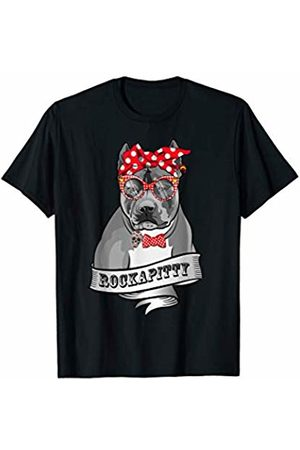 GREENREBEL American Pit Bull Terrier drawn motif