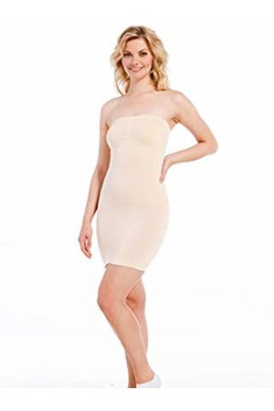 MAGIC Bodyfashion Women's Tube Dress (Latte 300)
