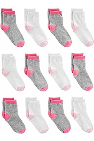 Simple Joys by Carter's 12-pack Sock Crew /Gray/ , 6-12 Months