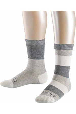 Esprit Boy's Block Stripe 2-Pack Socks