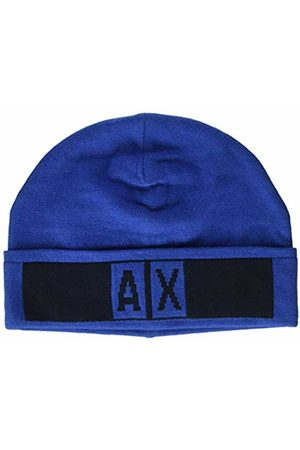 Armani Exchange Men's Beanie Hat with Logo Beret