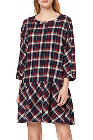 Tommy Hilfiger Women's Tjw 3/4 Sleeve Drop Waist Dress