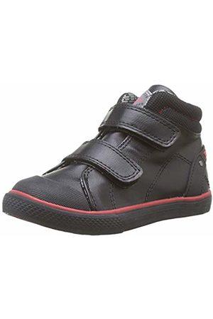 Pablosky Boys' 958710 Low-Top Sneakers, (Negro Negro)