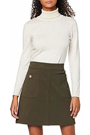 Dorothy Perkins Women's Khaki Btn Pocket Min Skirt
