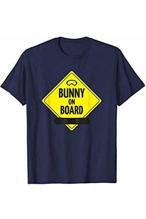 bunny Shirt for all Boarder Girls snowboard crew Bunny on Board Snowboard Ski Goggles - Ski Holiday women T-Shirt