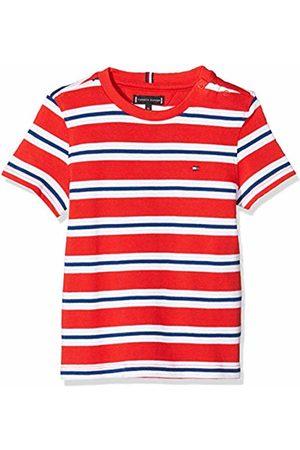 Tommy Hilfiger Baby Boys' Stripy Crew Neck S/s T-Shirt