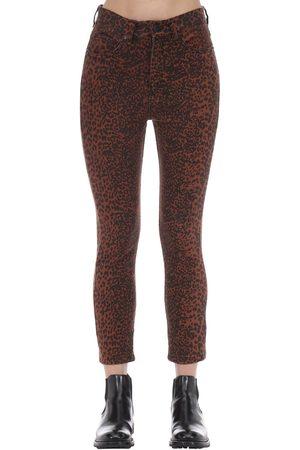 The People Vs Wild Cat Bonnie Cotton Denim Jeans