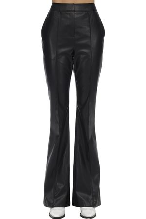 We11 Done Flared Faux Leather Pants