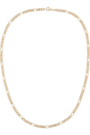 Susan Caplan 1990s Vintage Gold Plated Figaro Chain Necklace