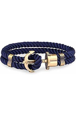 PAUL HEWITT Men Anchor Bracelet PHREP with Nylon Bracelet in Navy und Anchor Made of Brass PH-PH-N-N-M