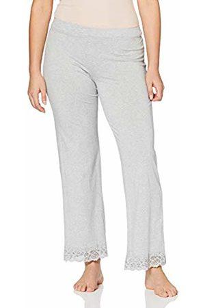 Skiny Women's Sleep & Dream Hose Lang Pyjama Bottoms, (Stone Melange 5593)