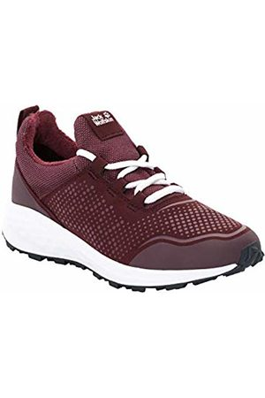 Jack Wolfskin Women's Coogee Wt W Low-Top Sneakers, (Burgundy/ 2816)