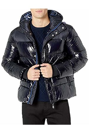 Armani Men's Shiny Coat Bomber Jacket