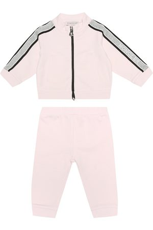 Moncler Baby stretch-jersey tracksuit