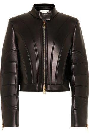 Bottega Veneta Cropped leather jacket