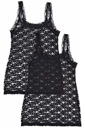 IRIS & LILLY Women's Soft Lace Vest, Pack of 2