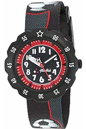 Flik Flak Boys' Analogue Quartz Watch with Textile Strap FPSP010