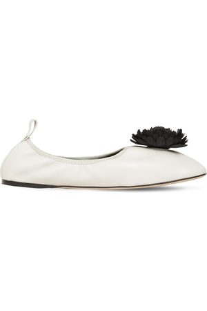 Loewe 10mm Leather Ballerinas